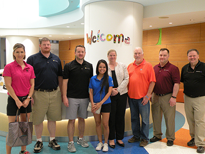 texas childrens fundraisers tour hospital facility